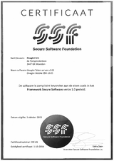 Secure Software Foundation Certificate Onegini