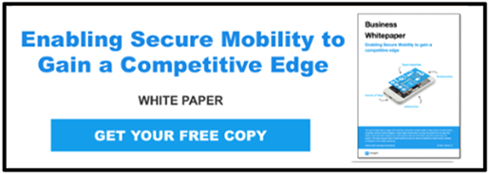 Enabling Secure Mobility to gain a competitive edge white paper offer